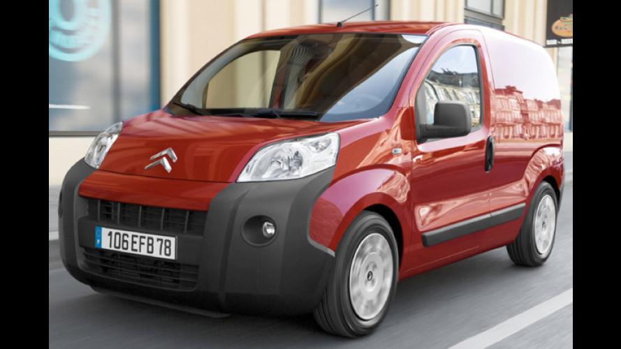 Citroën gibt Preise für den Stadtlieferwagen Nemo bekannt