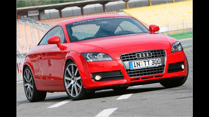 Audi TT: Mehr Power für das Coupé aus Ingolstadt