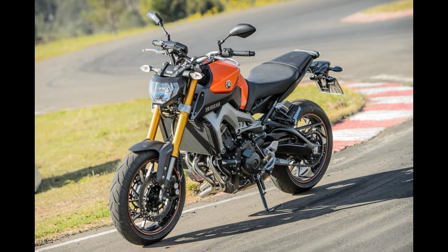 Recall: Yamaha convoca MT-09 para troca da coroa da roda traseira