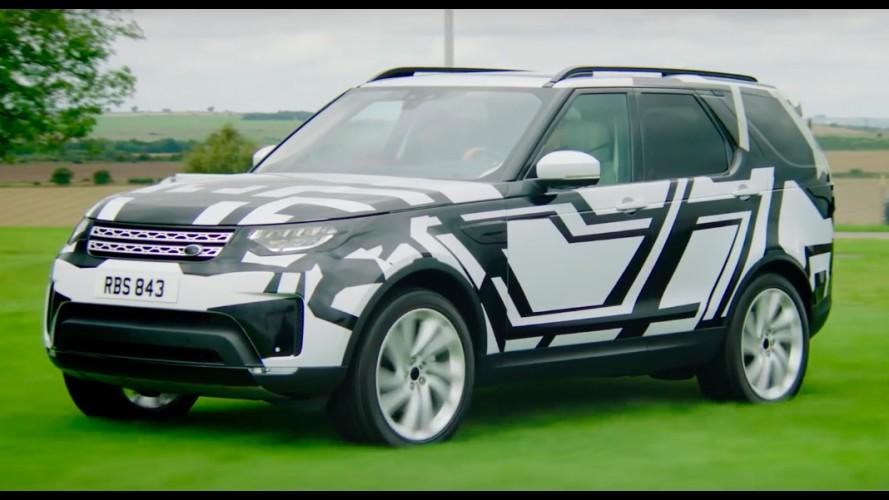 Novo Land Rover Discovery 2017 aparece quase sem camuflagem em vídeo