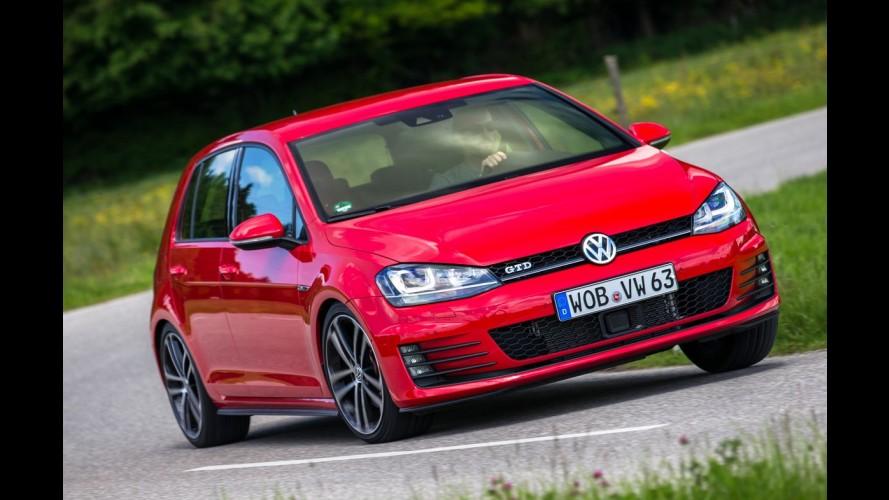 Mais vendidos na Europa: Golf absoluto e 308 no Top 10 em novembro