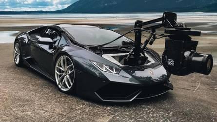 Lamborghini Huracam - Une caméra car de 610 ch