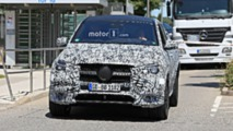 2020 Mercedes GLE Coupe spy photos