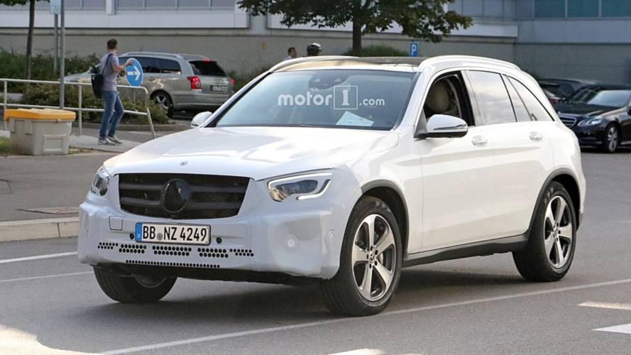 Makyajlı Mercedes GLC casus fotoğraflar