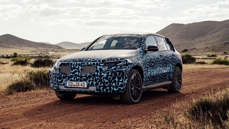 Mercedes EQC, proseguono i test nel deserto spagnolo