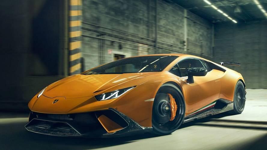 La Lamborghini Huracan Performante améliorée par Novitec