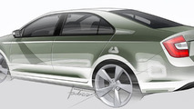 2013 Skoda Rapid officially revealed for Europe