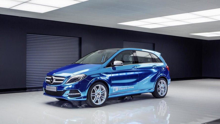 Mercedes-Benz B-Class Electric Drive concept officially revealed in Paris