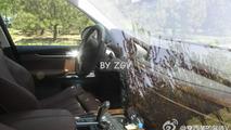 2014 BMW X5 interior spy photo / Weibo.com