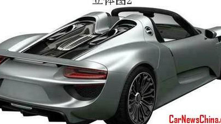 Porsche 918 Spyder revealed in production guise?