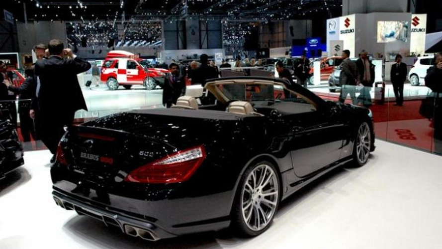 Brabus 800 Roadster visits Geneva Motor Show