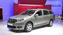 2013 Dacia Logan MCV live in Geneva