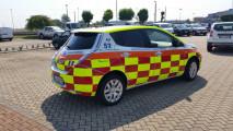 Nissan Leaf, la versione Automedica
