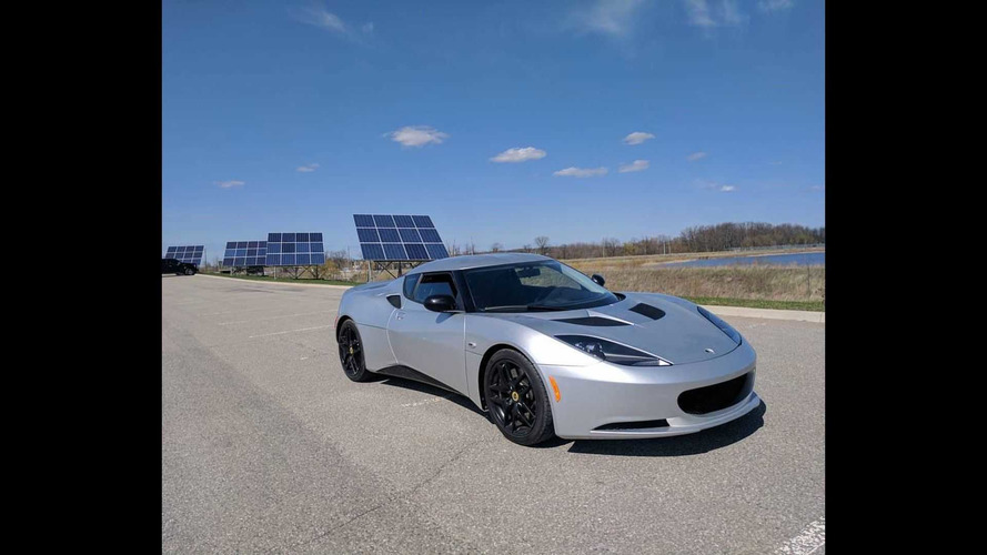 Electric Lotus Evora Blue Lightning Hits The Road, Snaps Necks