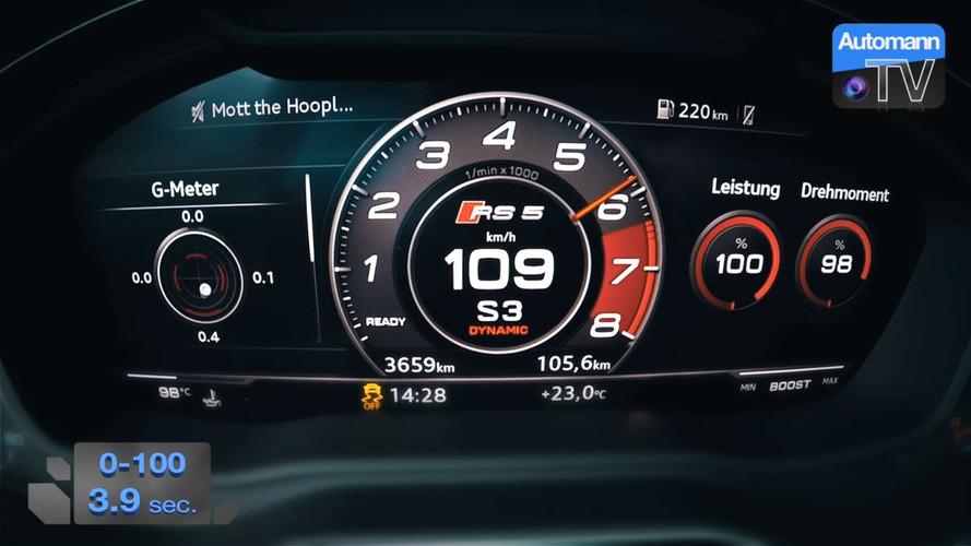 VIDÉO - Un 0 à 100 km/h à bord de la nouvelle Audi RS 5