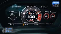 Audi RS 5 accélération
