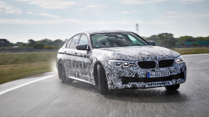 BMW M5 2017: propulsión trasera o tracción total, a gusto del conductor