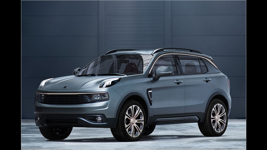 Total vernetzt: Modernes China-SUV