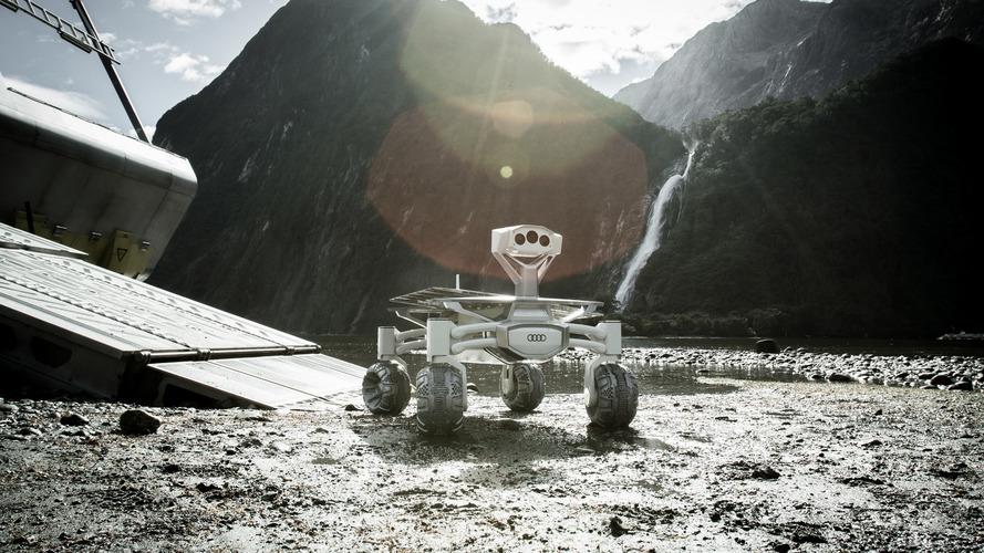Veículo lunar da Audi vai estrear em filme antes de ir ao espaço