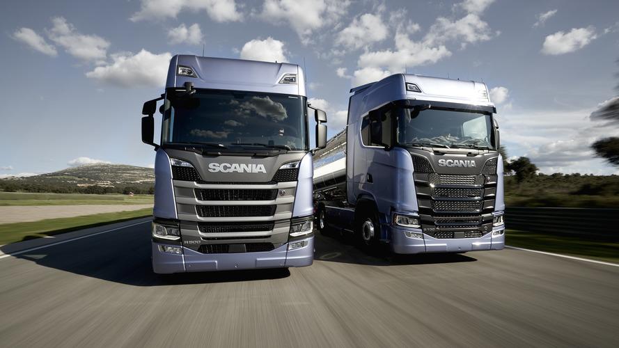 Yeni Scania çekiciler Türkiye'de