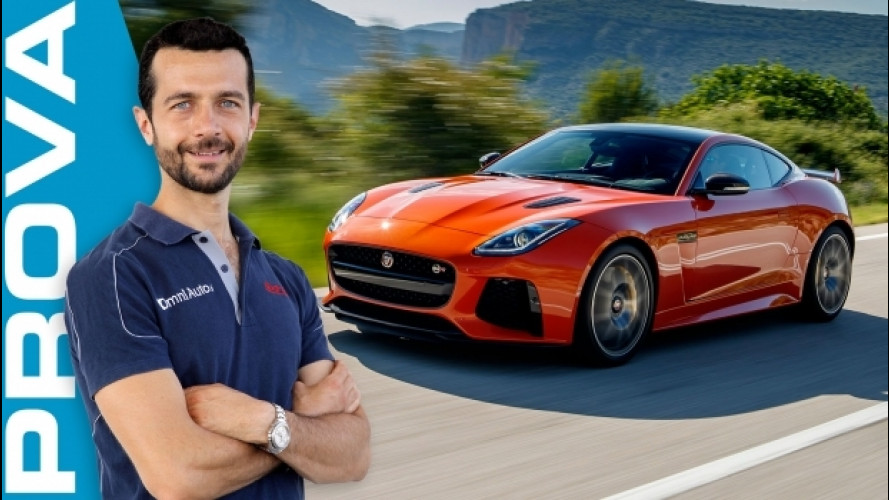 Jaguar F-Type SVR, è già nella storia [VIDEO]