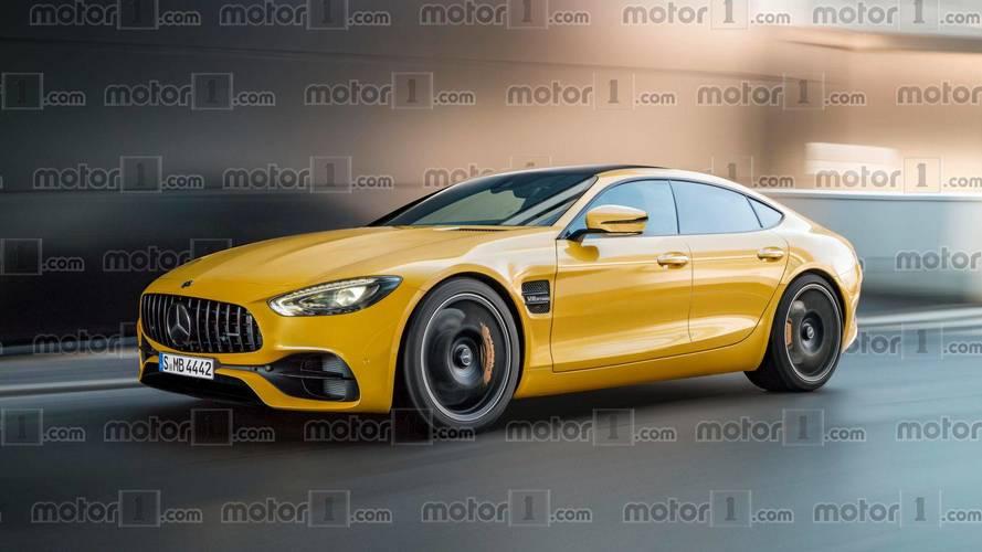 2019 Mercedes-AMG GT Sedan