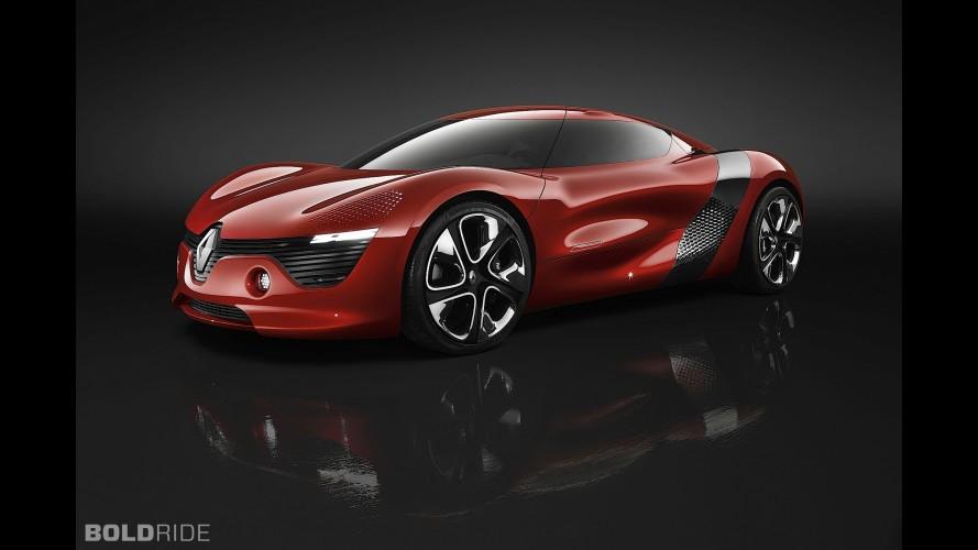 Dézir (2010) – Un coupé électrique pour muscler le style Renault