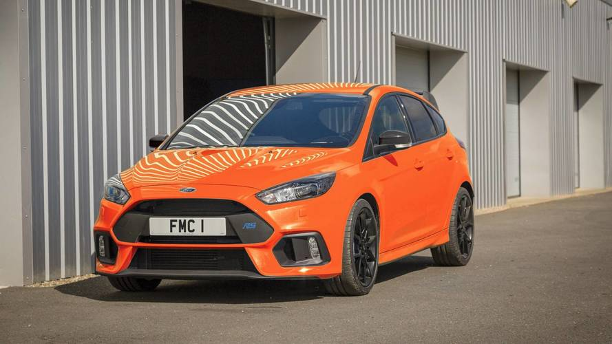 Ford Focus RS Heritage Edition, homenaje al medio siglo del Escort