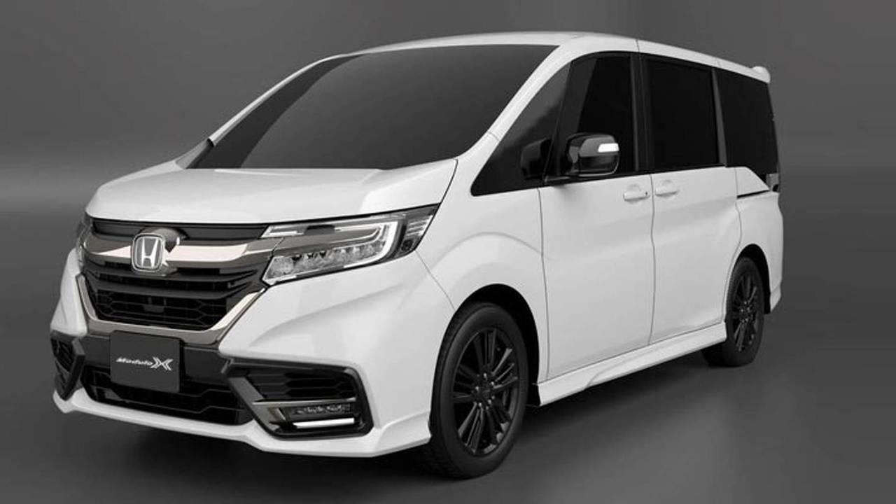 Honda Step Wgn Modulo X Concept