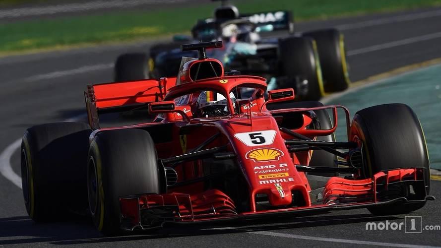 2018 F1 Australian GP: Vettel Beats Hamilton With Strategy Call