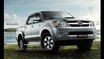 Linha Toyota Hilux e SW4 2008 chegam com novidades