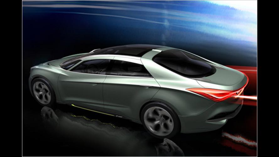 Hyundai zeigt Studie des Europa-Sonata in Genf