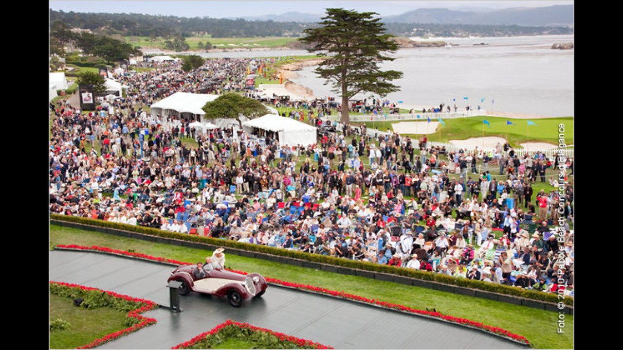 Concours d' Elegance 2010 in Pebble Beach