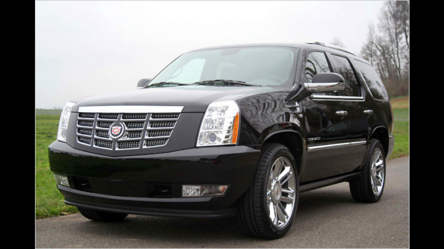 Cadillac Escalade: Luxus-Sondermodell Platinum