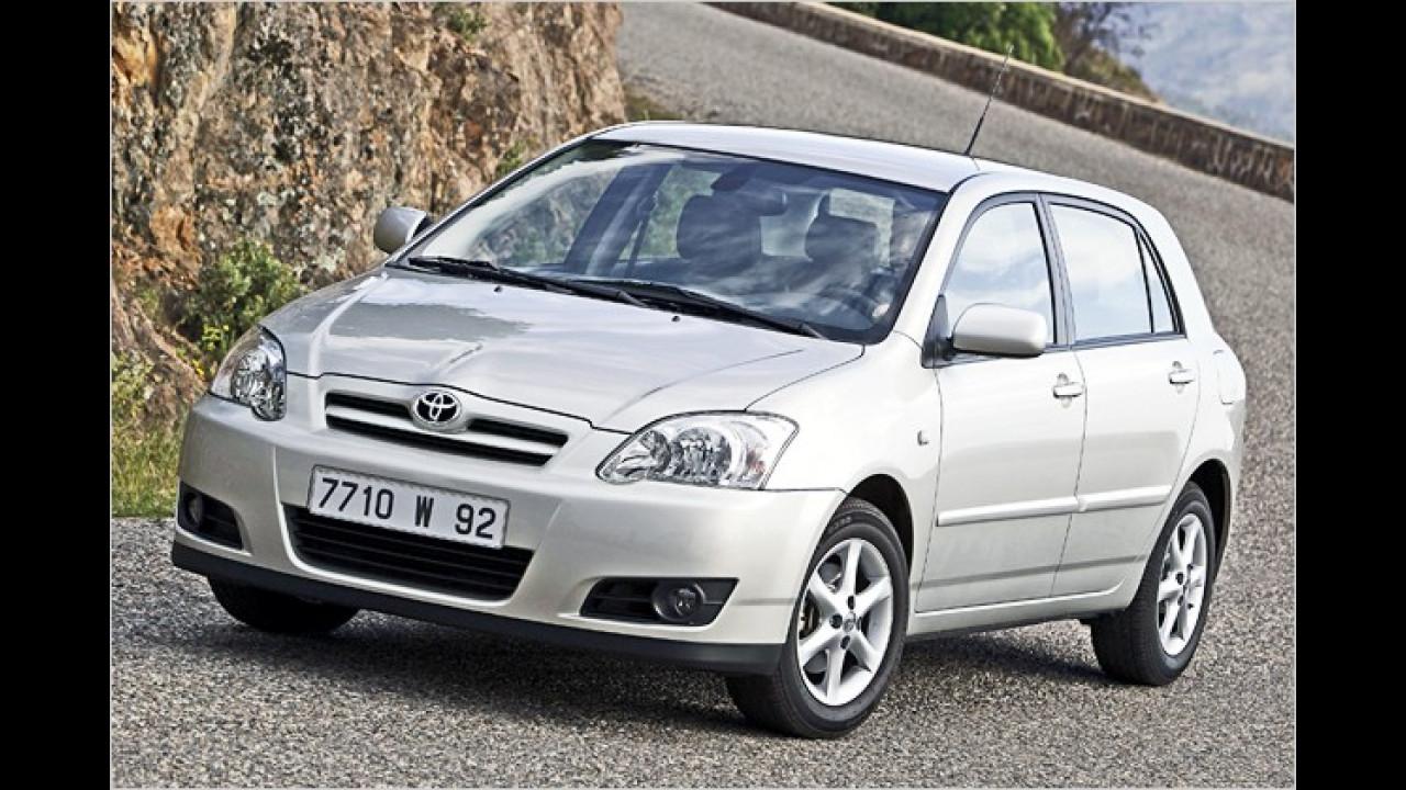 3. Platz: Toyota Corolla 1.6 VVT-i Sol
