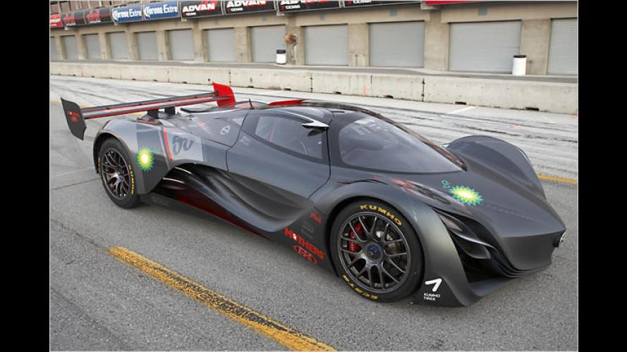 Mazda Furai in Detroit: Der Klang des Windes auf vier Rädern