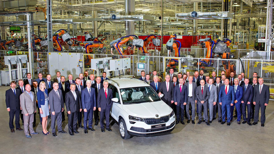 Skoda Karoq production
