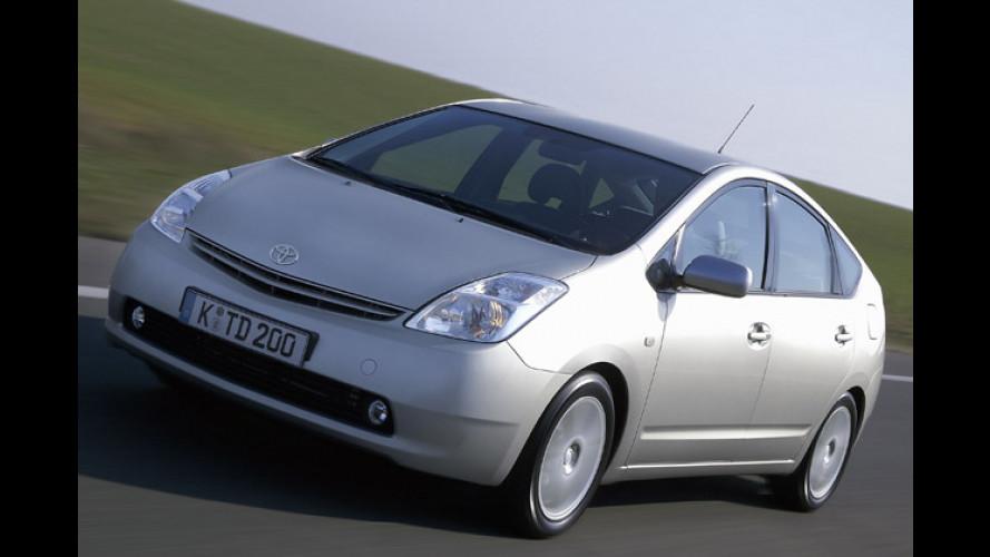 Die umweltfreundlichsten Autos im ADAC EcoTest 2004