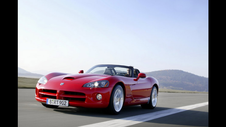 Rassiges Renn-Reptil Dodge Viper SRT-10 im Test