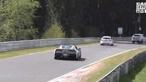 2018 Chevy Corvette ZR1 screenshot from spy video