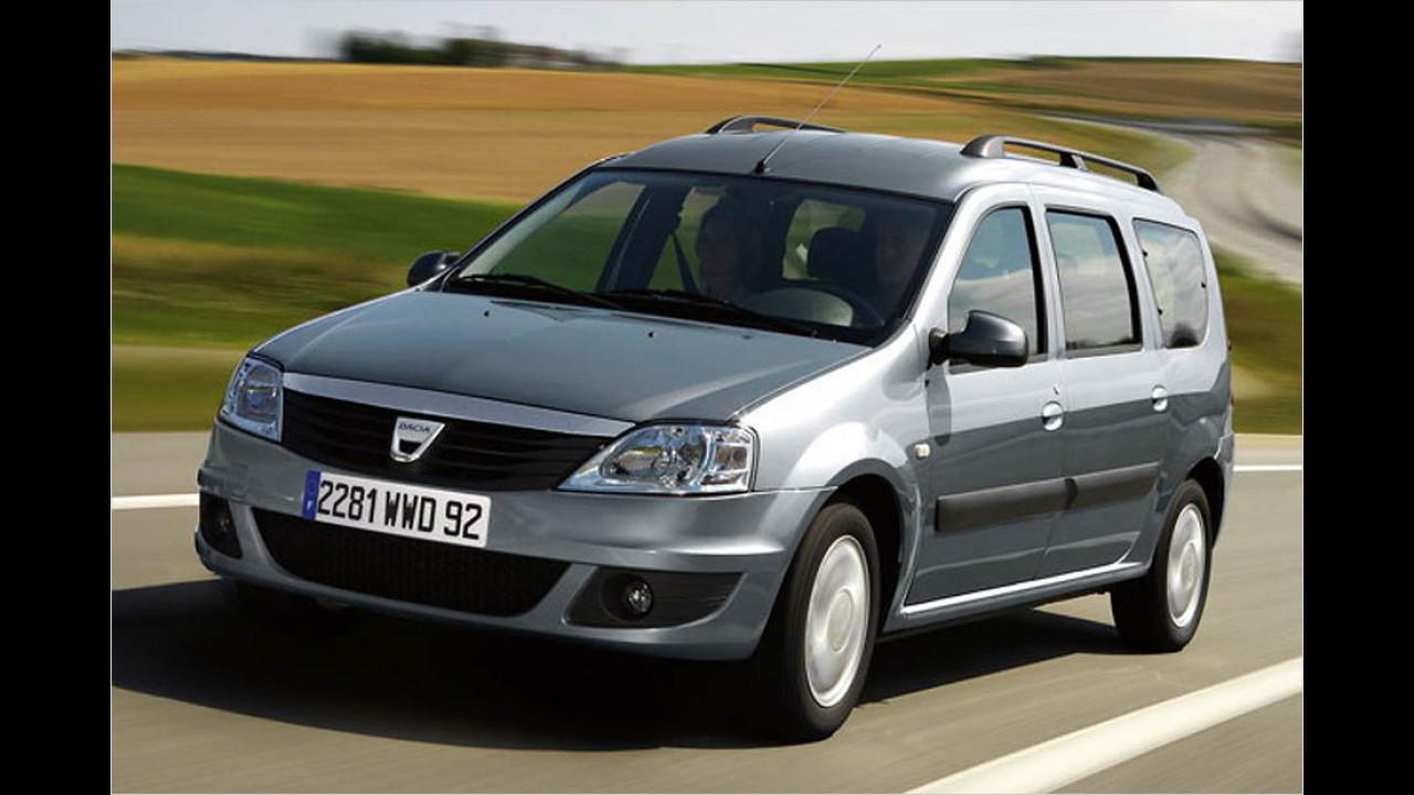 Die schlechtesten Autos bis 7 Jahre: Dacia Logan