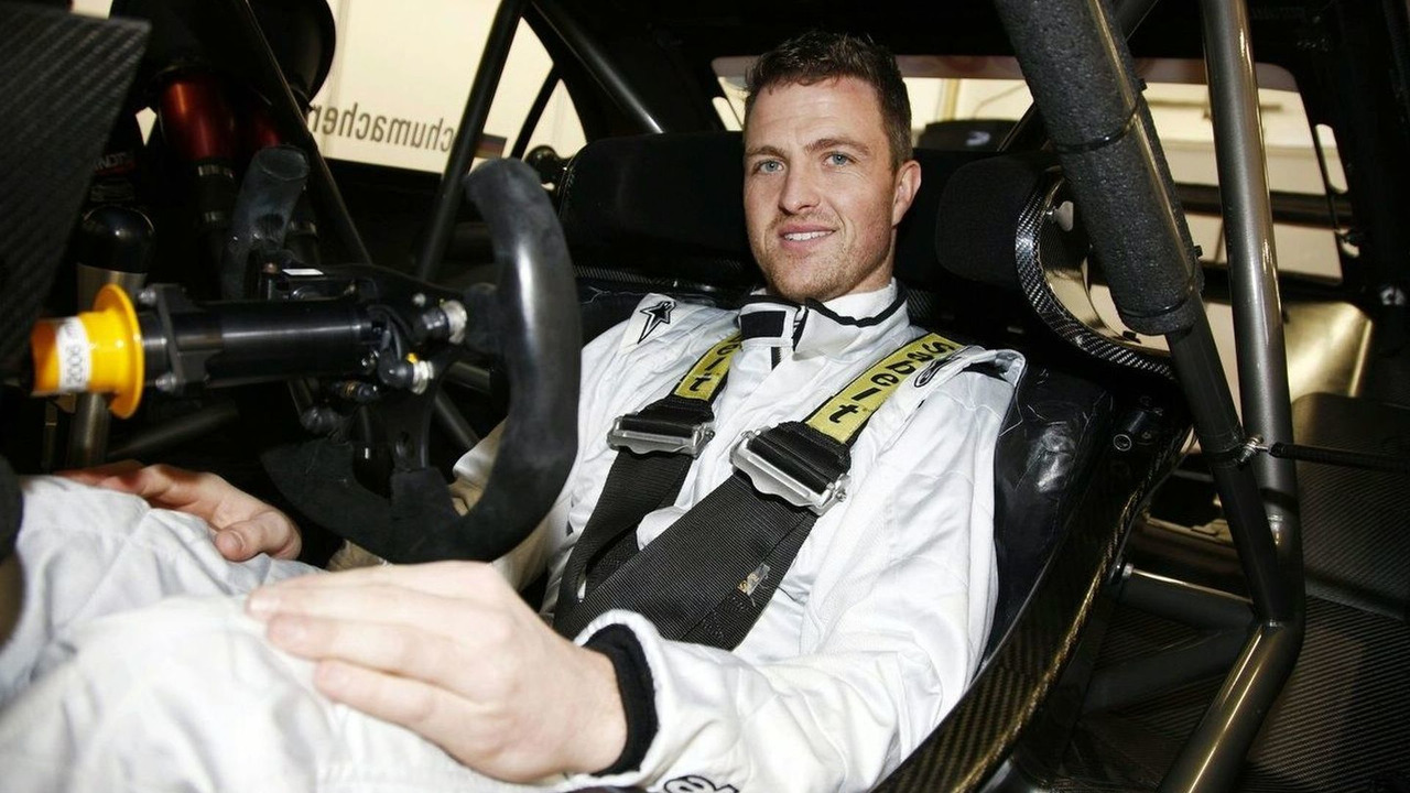 Ralf in his new DTM car