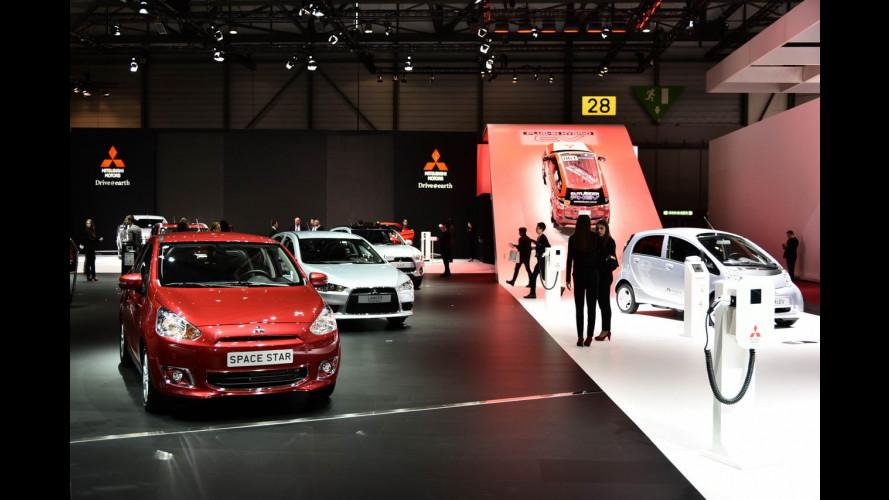 Mitsubishi al Salone di Ginevra 2015