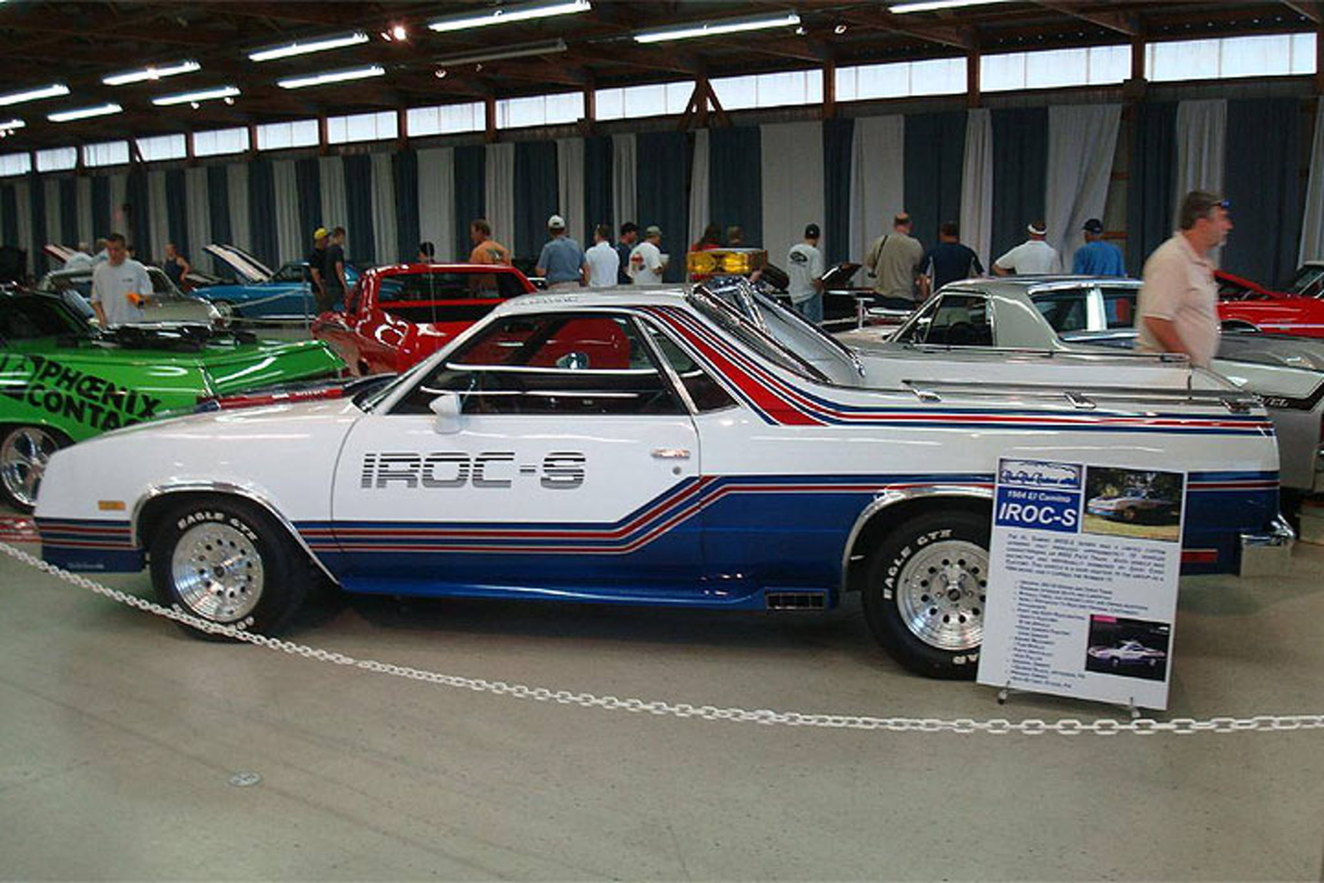 Choo Choo Choose This Rare El Camino IROC S For Your Collection