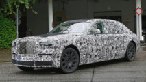 2018 Rolls Royce Phantom spy photo