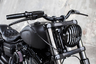 Rough Crafts' Dyna Fat Bob is the Meanest Harley-Davidson in Existence