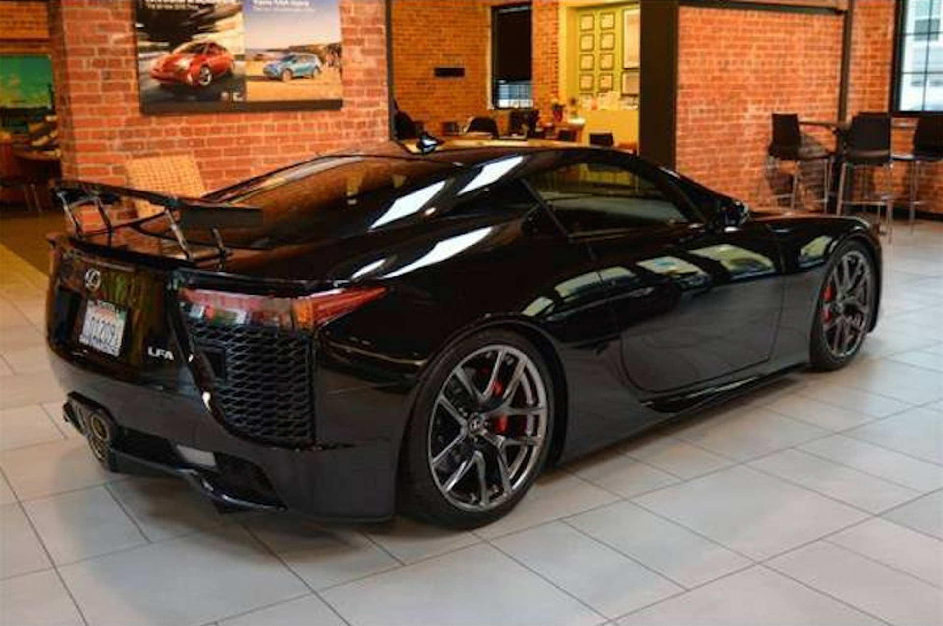 This Might be the 'Cheapest' Lexus LFA On the Market
