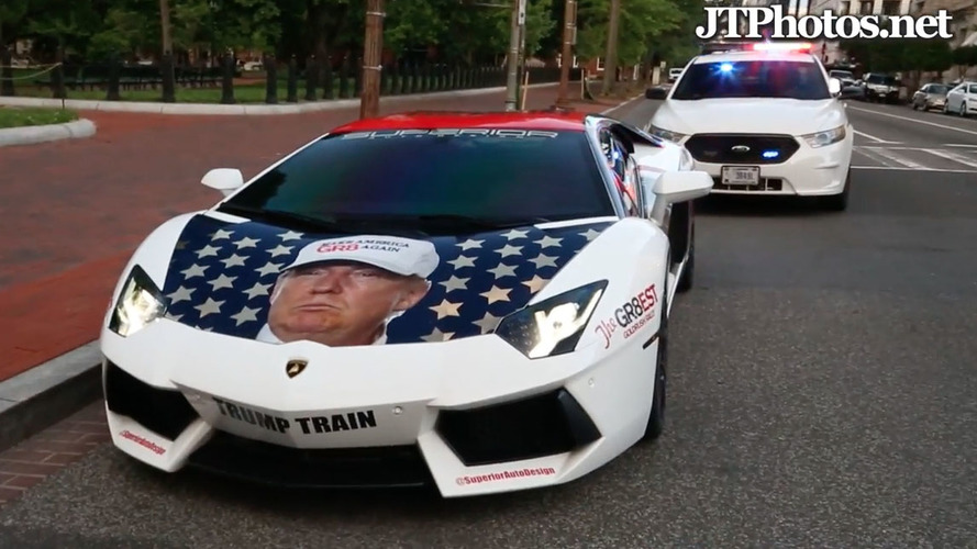 The Trumpventador visits the White House