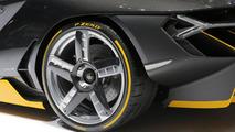 Lamborghini Centenario live in Geneva