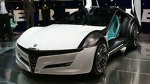 Bertone Pandion Concept live in Geneva 02.03.2010